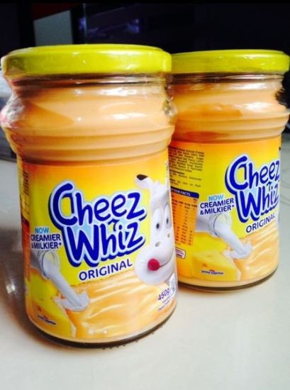 cheez whiz yummy~
