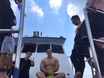 diving 40